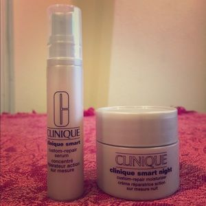 Clinique Smart Night Custom-Repair Duo Travel Size